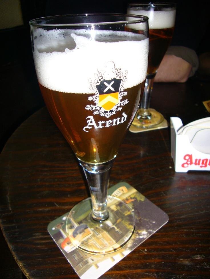 Arend tripel, Brugge, Belgium.