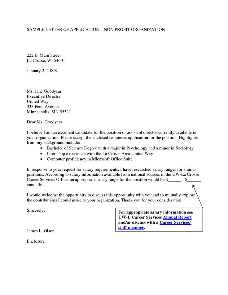 cover letter for non profit board resignation sample member Home - salary requirements in resume