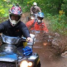 ATV Tours Ontario Guided Mud Tours and rentals from $70.00 CALL 1 888.955.9076, servicing Toronto, Ottawa, Peterborough, Barry, Huntsville, Georgian Bay, Bracebridge, Muskoka, in Haliburton Ontario Canada | Ontario's best ATV and Snowmobile Rental adventure company