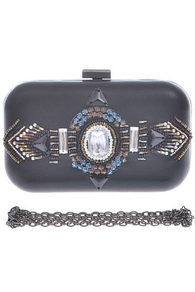 Jeweled Clutch w/ Detachable Chain · Nique's Online Boutique · Online Store Powered by Storenvy