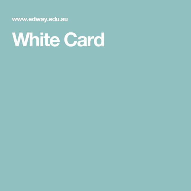 Construction Induction training course (also known as the White Card or Green Card training) is a mandatory legal requirement for all persons involved in the construction industry in Australia. Certain requirements need to be met to obtain a White Card Sydney (NSW) qualification so please check our website for further information.