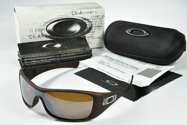Oakley Antix Sunglasses Brown Frame  $36.96 http://www.bigbootshotsale.com/