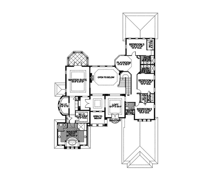 121 best Mediterranean House Plans images on Pinterest | House ... - luxury floor plans