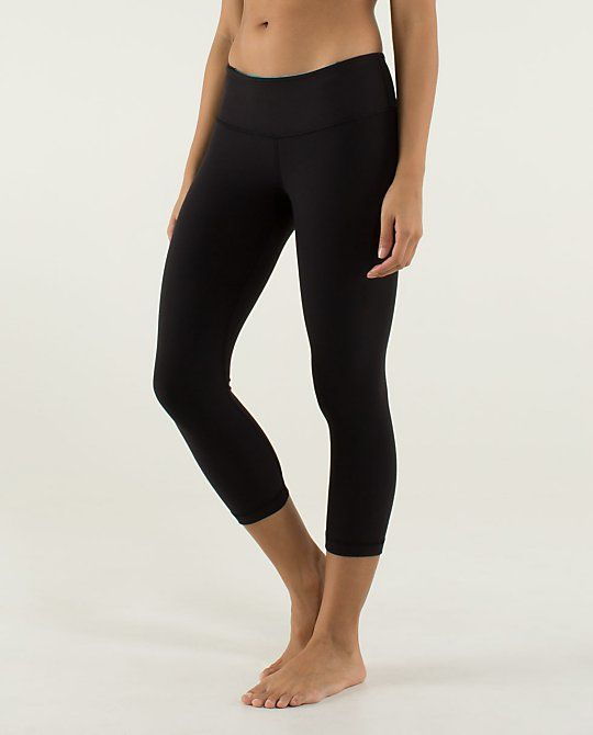 lululemon leggings, I like the plane black crop, it is simple and can go with almost everything.