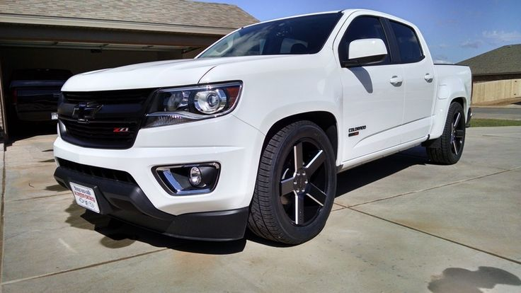 Lowered 2016 CCSB, Belltech kit - Chevy Colorado & GMC Canyon