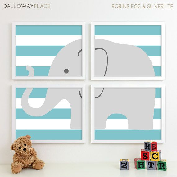 Childrens Art for Kids Wall Art Jungle Baby by DallowayPlaceKids, $60.00