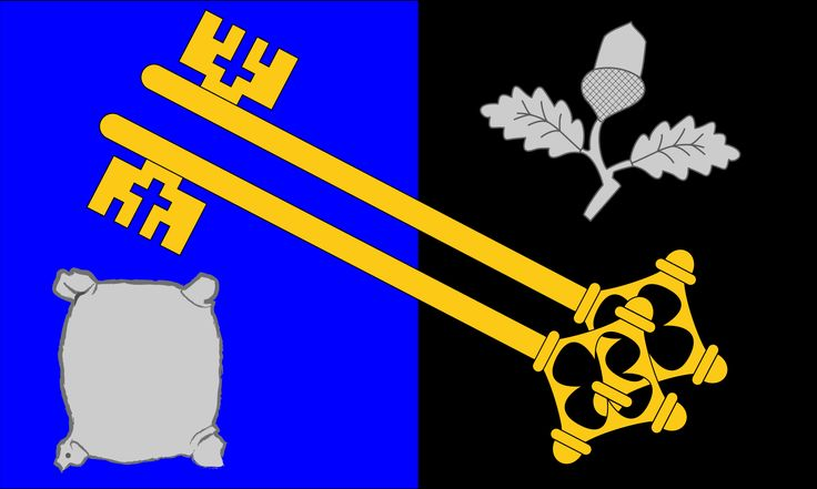 County Flag of Surrey, England