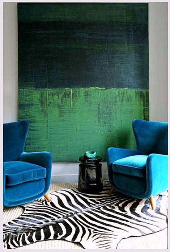 Emérita Desastre: Colores que decoran: Verde esmeralda