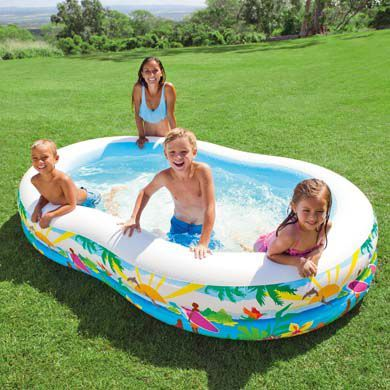 Spectacular INTEX Swim Center Paradise Pool