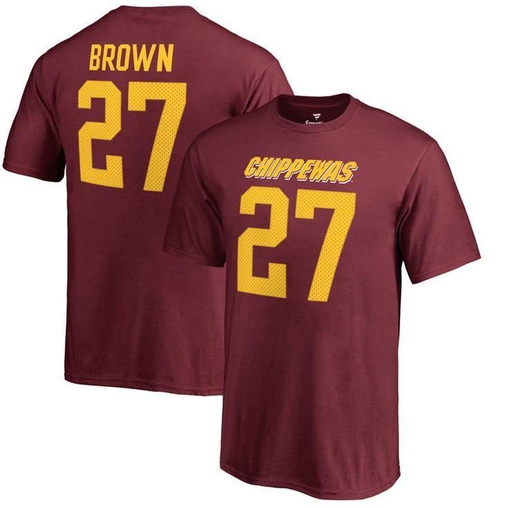 Antonio Brown Cent. Michigan Chippewas Fanatics Branded Youth College Legends T-Shirt - Maroon