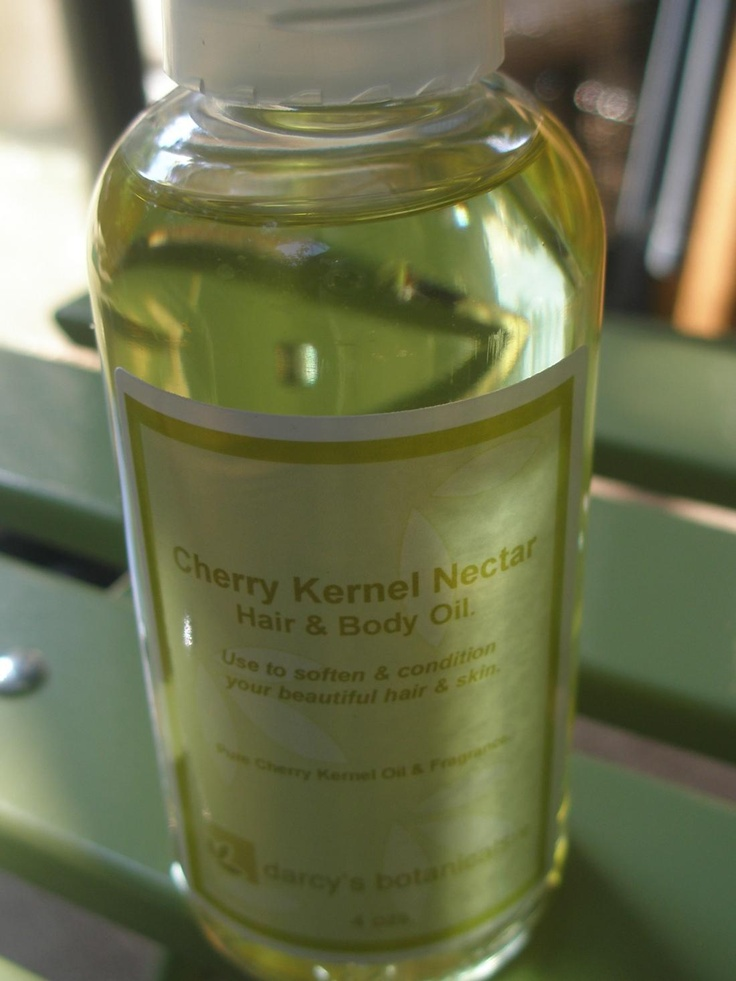 Darcy's Botanicals Cherry Kernal Nectar Hair & Body Oil - Love this. Light and not really greasy. I use it after applying my leave-in to seal in moisture. It works great on elbows, knees, feet, etc.