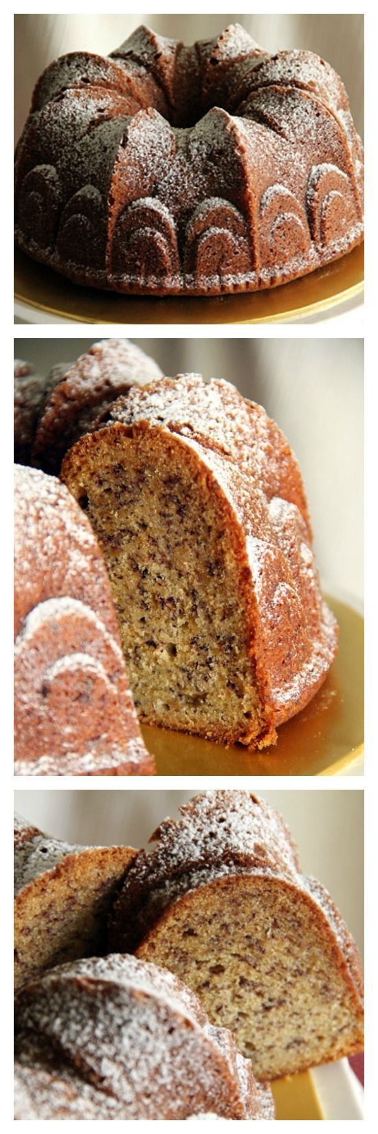 Best Banana Bundt Cake Recipe. Moist and buttery with the sweetest smell of bananas. | rasamalaysia.com