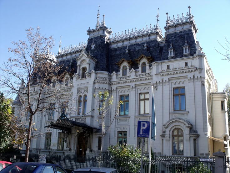 Cretulescu Palace -1875 - near Cismigiu Gardens