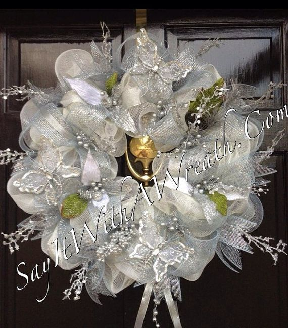 17 Best Images About Wedding Wreaths On Pinterest Burlap