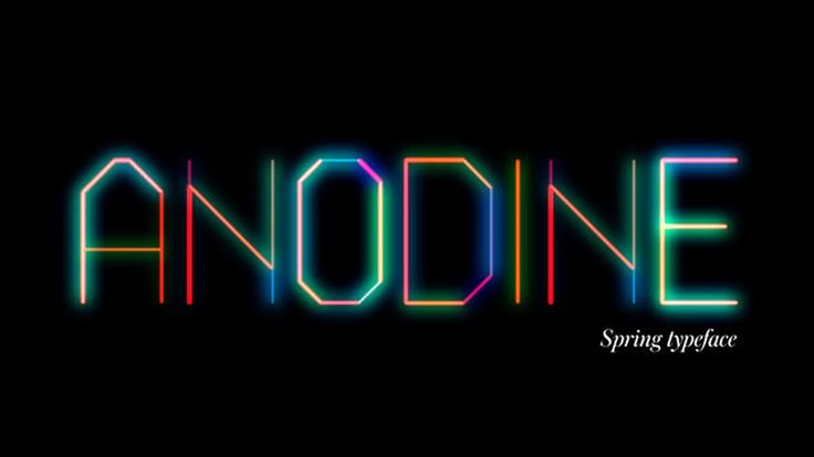 ANODINE is a free animated typeface for Adobe After Effects feel free to use it for anything you wish,  personal and/or commercial :) Download the ANODINE AE alphabet…