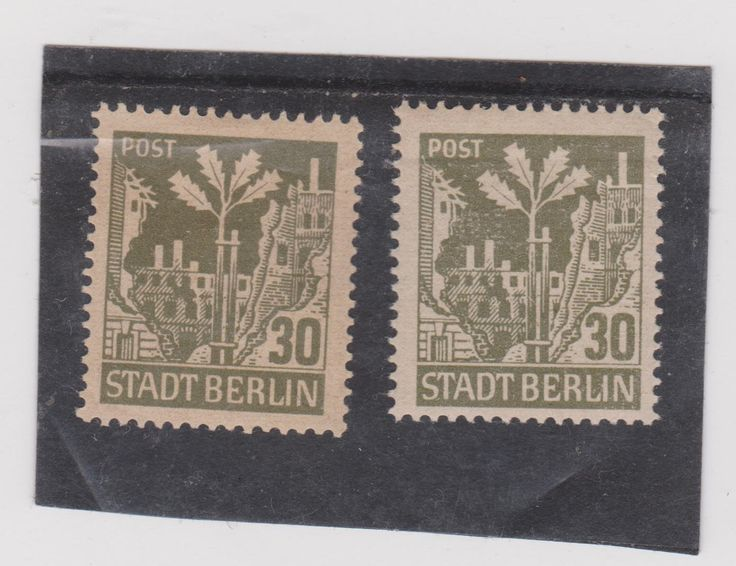 Stamp Germany vey rare color
