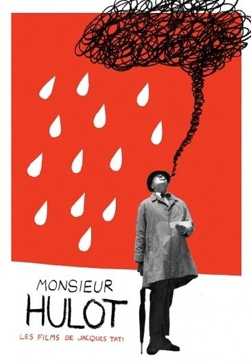 MONSIEUR HULOT Adrian Walsh Design and Illustration in TYPE & IMAGE