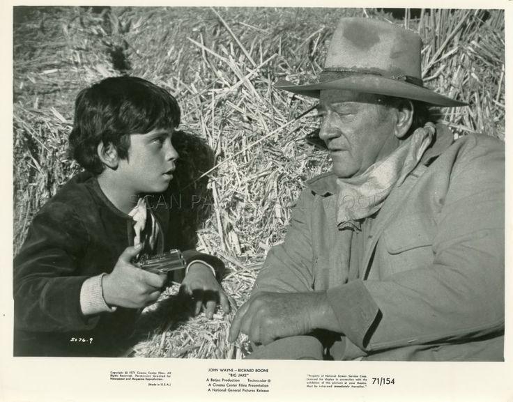 Big Jake 1971 Film | JOHN WAYNE BIG JAKE 1971 VINTAGE PHOTO ANCIENNE ARGENTIQUE ...