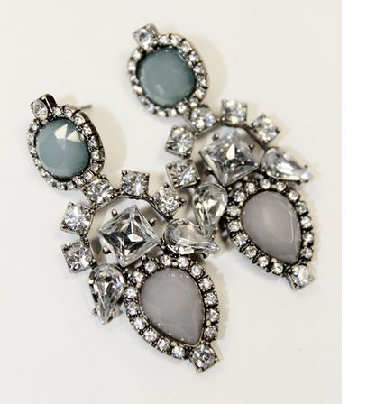 2014 fashion gem earrings Brand Drop dangle Earrings gems Exquisite Chandelier Crystal Earring Charm Jewelry Design Earrings -in Drop Earrings from Jewelry on Aliexpress.com   Alibaba Group