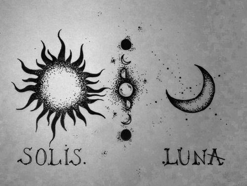 sun and moon | Tumblr