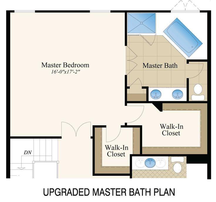 Master Bath Floor Plans - Google Search