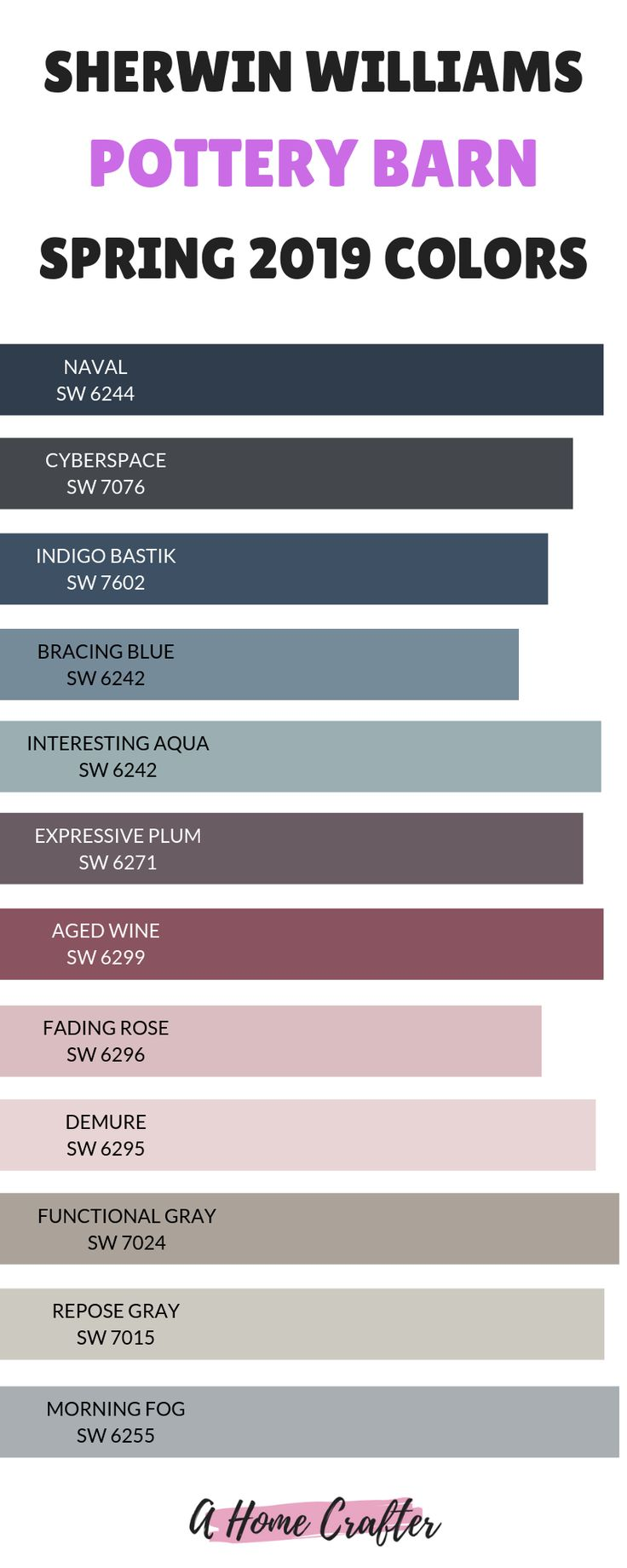 2019 Pottery Barn Spring Color Palette Pottery Barn