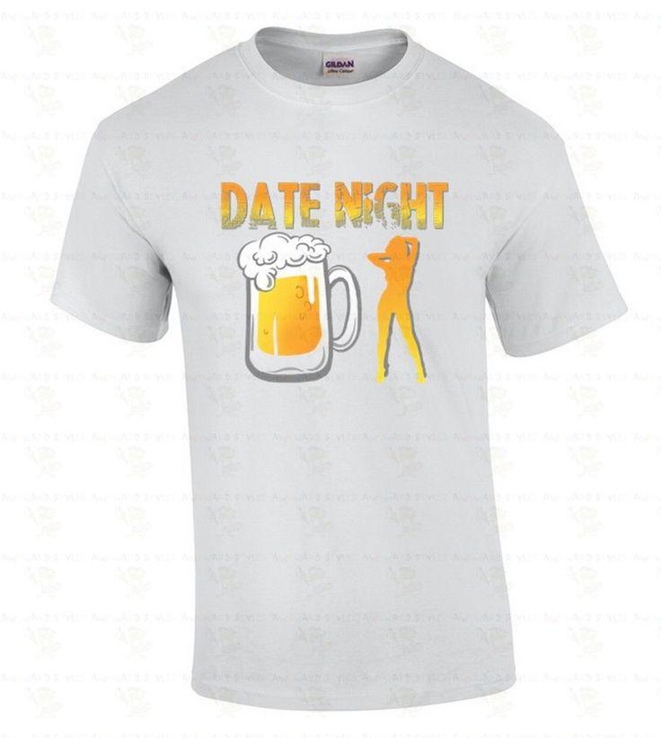 Date Night Funny St Patricks Day Party Mug Girl Drinking B**r Men Tshirt