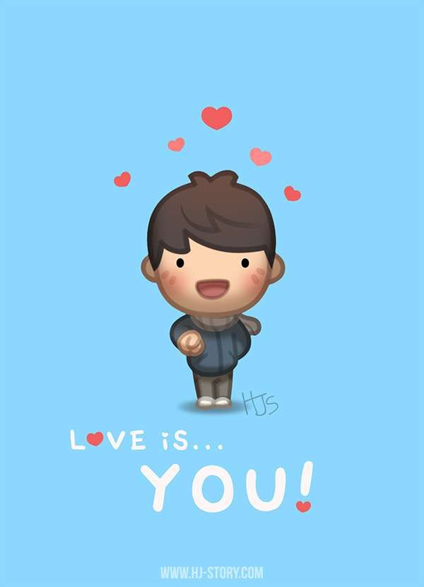 HJ-Story :: Love is... YOU! | Tapastic Comics - image 1