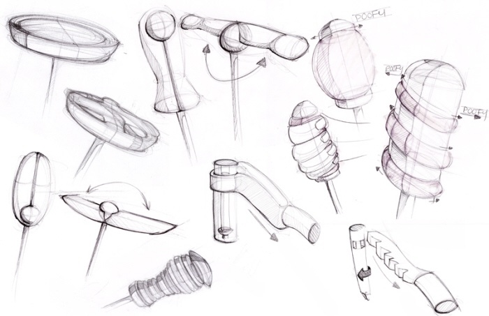 Screwdriver Sketches by Lindsay Hescock at Coroflot.com