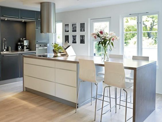 Kitchen Modern Island Gorgeous Best 25 Modern Kitchens With Islands Ideas On Pinterest  Modern Inspiration