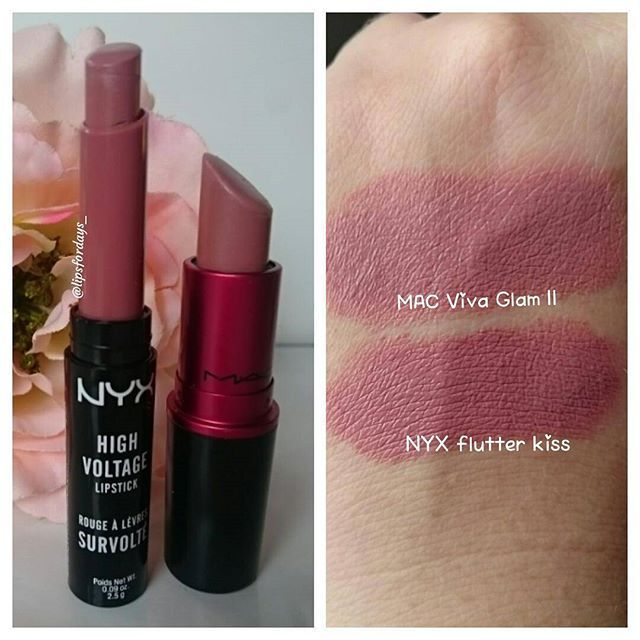#macvivaglam2 #Dupe #nyxflutterkiss