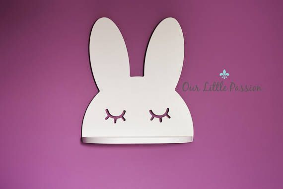Hey, I found this really awesome Etsy listing at https://www.etsy.com/listing/527021038/sleeping-bunny-shelf-shelf-for-baby