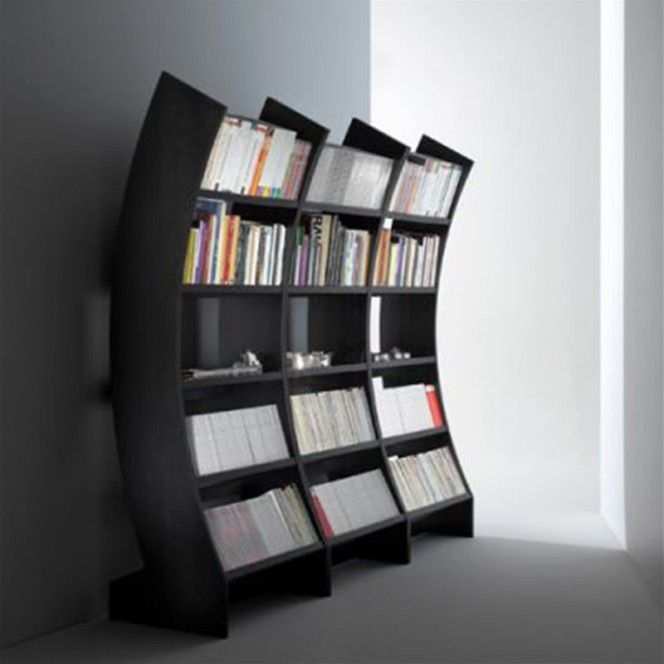 Contemporary, ergonomic and stylish bookcases furniture design for home and  library interior furnishings.