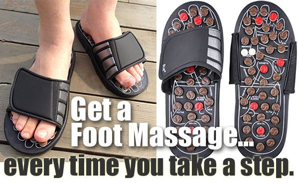 Get a Foot Massage While You Walk - with Reflexology Sandale