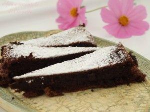 #tarte au #chocolat http://www.glutenfreetravelandliving.it/gffd-ricette/