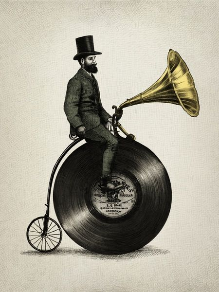 vinyl bicycle!! | Vinyls in 2019 | Art, Music, Print artist