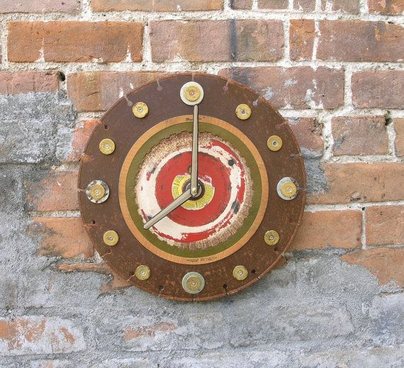 Industrial Wall Saw : The best metal clock ideas on pinterest