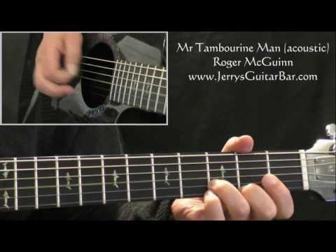 How To Play Roger McGuinn (Byrds) Mr Tambourine Man (intro riff only) - YouTube