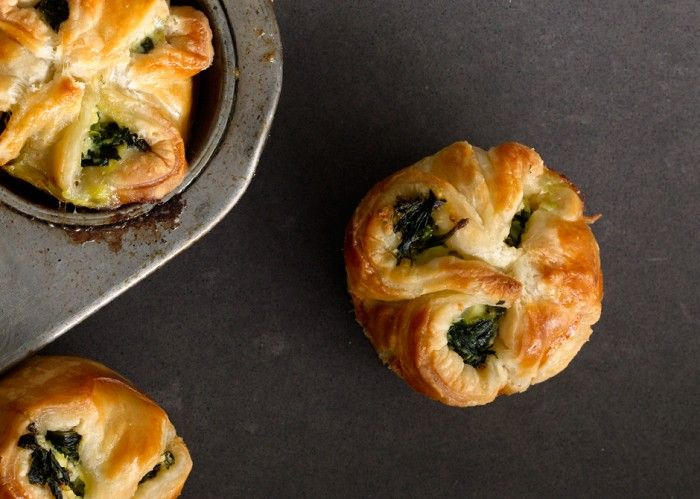 Spinach Puffs - Bon Appétit!  My mother in law has made these a few times and they are AMAZING!