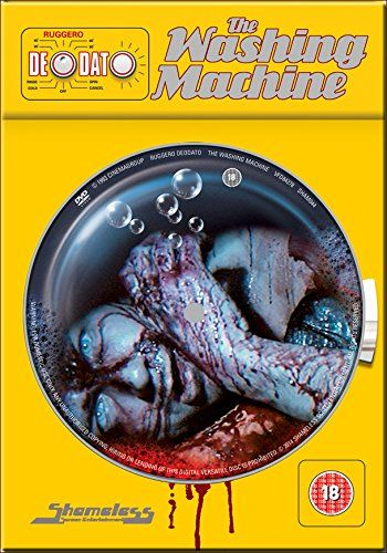 Ruggero Deodato's The Washing Machine - Shameless Limited Edition Tin Edition DVD - Buy here: http://www.amazon.co.uk/gp/product/B00KQQN3V6/ref=as_li_qf_sp_asin_tl?ie=UTF8&camp=1634&creative=6738&creativeASIN=B00KQQN3V6&linkCode=as2&tag=horrorpedia-21