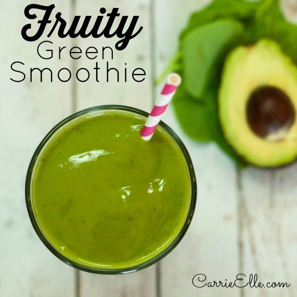 Fruity Green Smoothie Recipe