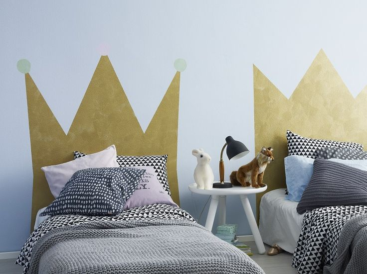 Ihana sängypääty prinsessalle tai prinssille. Onnistuu helposti Tikkurilan Taika Helmiäismaalilla.
