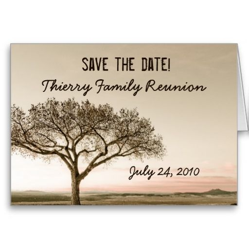 21 best Family Reunion Invitations images on Pinterest Family - invitations for family reunion