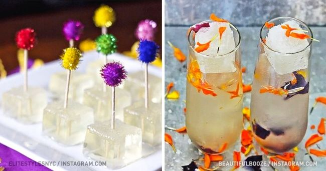 Замороженные кубики шампанского— лучший способ охладиться вэту…