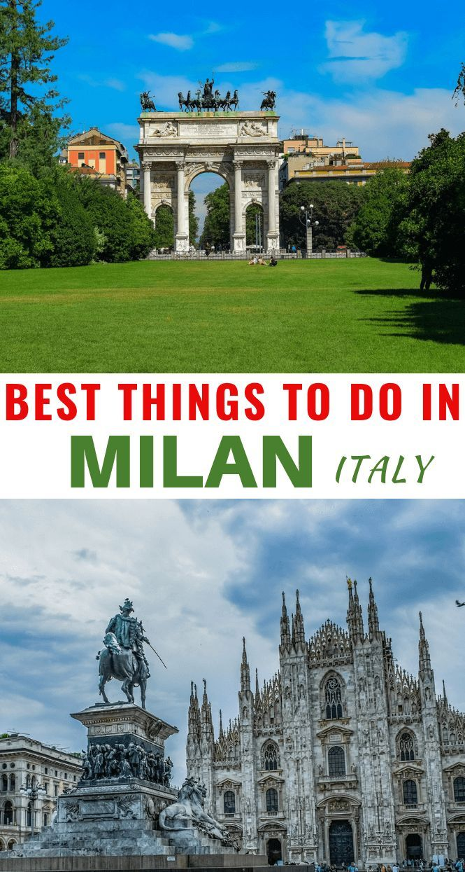 Milan Italy Points Of Interest Travel Italy Travel Tips