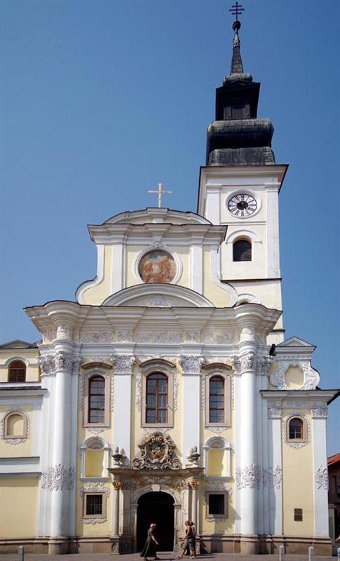 Slovakia, Prešov - Catholic Cathedral of St John the Baptist