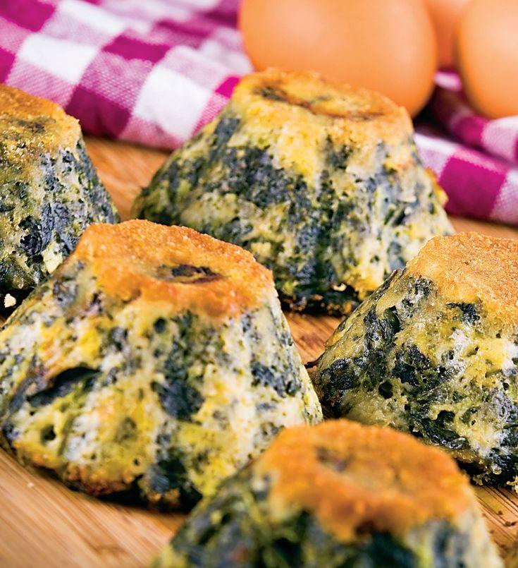 Brioşe cu spanac | Retete culinare - Romanesti si din Bucataria internationala