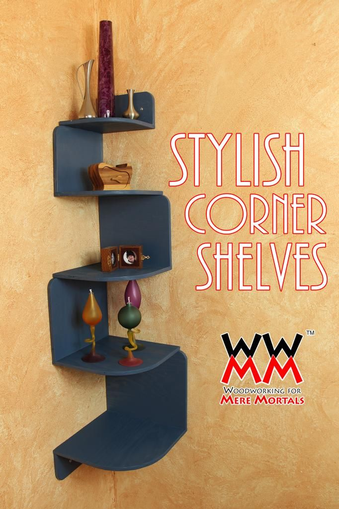 corner shelving unit woodworking for mere mortals
