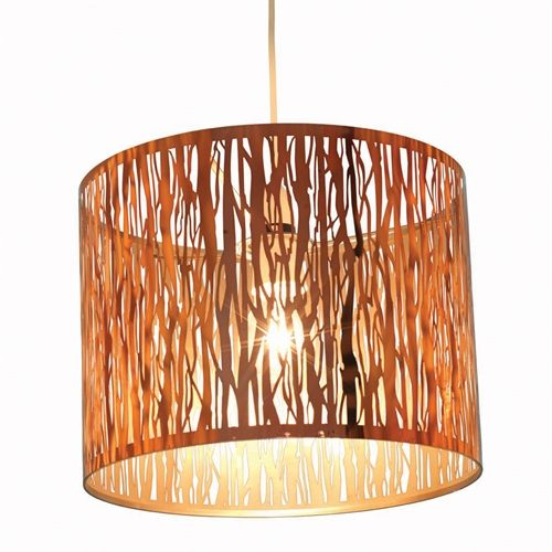 Fia Pendant Lampshade - Copper including free delivery (934.017) | Pine Solutions