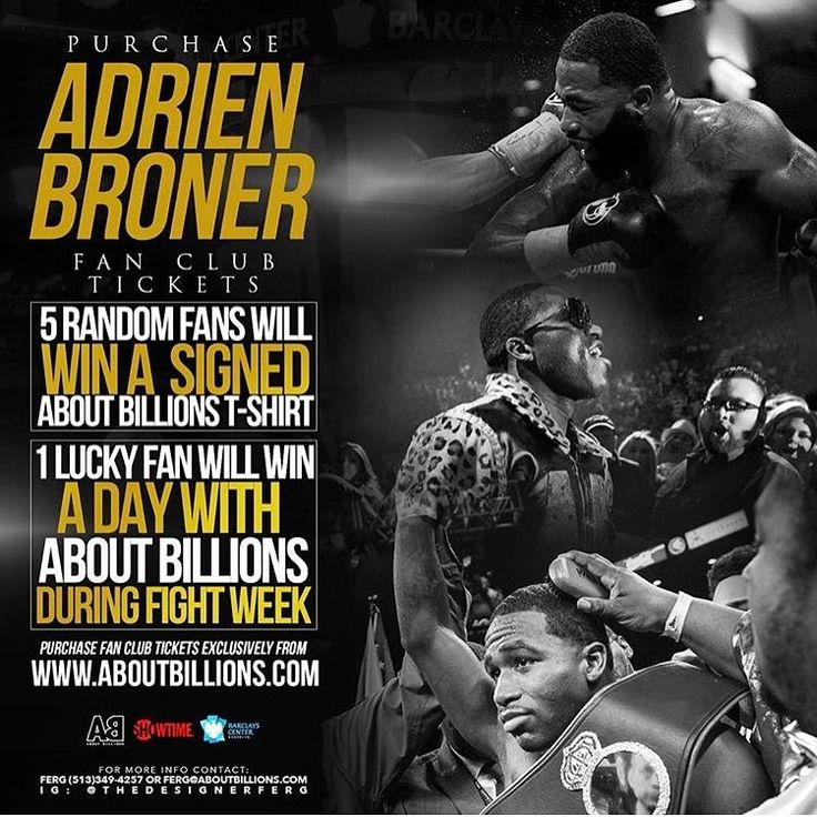 "MY BIRTHDAY WEEK WILL BE A GOOD ONE  #JULY #LEO BARCLAYS CENTER TO HOST BLOCKBUSTER MATCH-UP FEATURING FOUR-DIVISION WORLD CHAMPION #ADRIENBRONER VS. UNDEFEATED THREE-DIVISION CHAMPION #MIKEYGARCIA ON SATURDAY, JULY 29  Presented by Premier Boxing Champions LIVE on SHOWTIME --Tickets On Sale Thursday, June 15 at 10 a.m.-- BROOKLYN (June 13, 2017) -Four-division world champion Adrien ""The Problem'' Broner and three-division world champion Mikey Garcia square off in a blockbuster matchup in…"